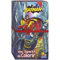 Livro - Superkit de colorir - Licenciados: Batman -