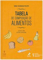 Livro - Tabela de composição de alimentos -