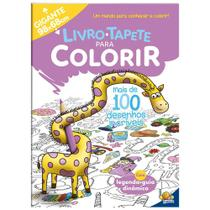 Livro-tapete para colorir: mais de 100 desenhos incríveis - Todolivro