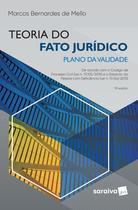 Livro - Teoria do fato jurídico - plano da validade - 15ª edição de 2019 -