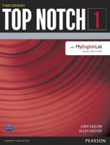 Livro - Top Notch 1 Student Book with Myenglishlab Third Edition -