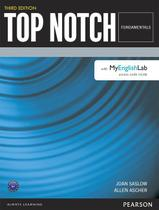 Livro - Top Notch Fundamentals Student Book with Myenglishlab Third Edition -