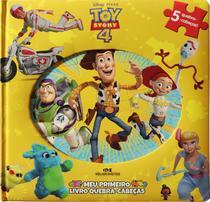 Livro - Toy Story 4 – Meu Primeiro Livro Quebra-Cabeças -
