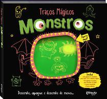 Livro - Traços mágicos monstros -