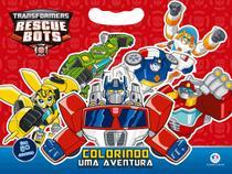 Livro - Transformers - Colorindo uma aventura -