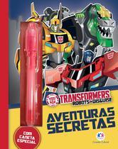 Livro - Transformers Robots in Disguise - Aventuras secretas -