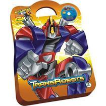 Livro Transrobots Com Maleta E Dvd Brasileitura -