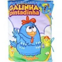Livro travesseiro galinha pintadinha - galinha - Editora Melhoramentos Ltda -