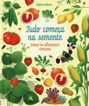 Livro - Tudo começa na Semente : Como os alimentos crescem -