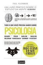 Livro - Tudo o que você precisa saber sobre psicologia -