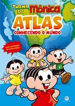 Livro - Turma da Mônica - Atlas - Conhecendo o mundo -