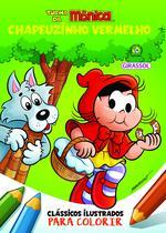 Livro - Turma da Mônica Clássicos Ilustrados para Colorir -