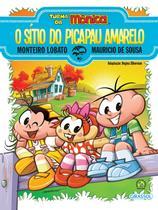 Livro - Turma da Mônica e Monteiro Lobato - O Sítio do Picapau Amarelo -