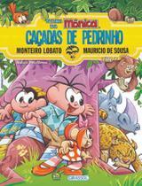 Livro - Turma da Mônica e Monteiro Lobato -