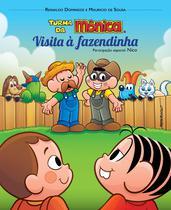 Livro  turma da monica e nico em visita a fazendinha - 1 edicao - Editora Dsop