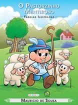 Livro - Turma da Mônica - fábulas ilustradas - o pastorzinho mentiroso -