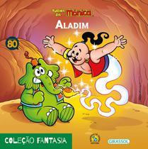 Livro - Turma da Mônica - fantasia - Aladim -