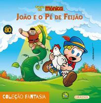 Livro - Turma da Mônica - fantasia - João e o pé de feijão -