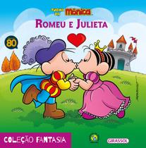 Livro - Turma da Mônica - fantasia - Romeu e Julieta -