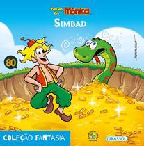 Livro - Turma da Mônica - fantasia - Simbad -