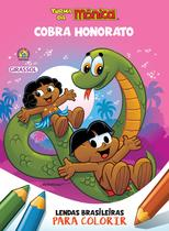 Livro - Turma da Mônica - Lendas Brasileiras para Colorir - Cobra Honorato -