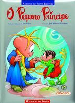 Livro - Turma da Mônica - O pequeno príncipe (capa almofadada) -