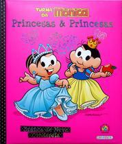 Livro - Turma da Mônica - princesas e princesas - Branca de Neve / Cinderela -