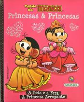Livro - Turma da Mônica Princesas & Princesas -