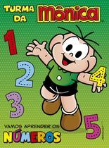 Livro - Turma da Mônica - Vamos aprender os números -