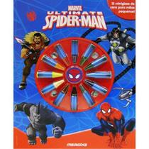 Livro - Ultimate Spider-Man - Giz Para Colorir