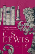 Livro - Um experimento em crítica literária -