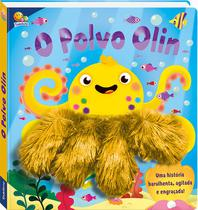 Livro - Um livro-dedoche: O polvo Olin -