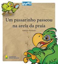 Livro - Um passarinho passeou na areia da praia -
