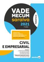 Livro - Vade Mecum Civil e Empresarial - 5 ª Edição 2021 -