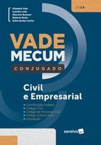 Livro - Vade Mecum conjugado: Civil e empresarial - 1ª edição de 2019 -
