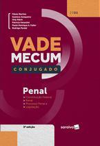 Livro - Vade Mecum Conjugado Penal - 3ª Edição 2021 -