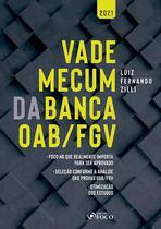 Livro - VADE MECUM DA BANCA OAB / FGV - 1ª ED - 2021 -