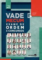 Livro - Vade Mecum Exame de Ordem - 3ª Edição 2021 -