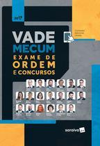 Livro - Vade Mecum Exame de Ordem e concursos - 1ª edição de 2019 -