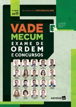 Livro - Vade Mecum exame de ordem e concursos 2020 - 2ª Edição -