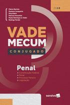 Livro - Vade Mecum penal conjugado - 1ª edição de 2019 -