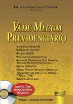 Livro - Vade Mecum Previdenciário - Acompanha CD-Rom -