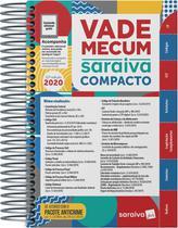Livro - Vade Mecum Saraiva Compacto Espiral 2020 - 22ª Edição -
