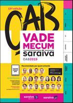Livro - Vade Mecum Saraiva OAB 2019 - 19ª edição de 2019 -