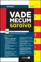 Livro - Vade Mecum Saraiva : Tradicional - 28ª edição de 2019 -