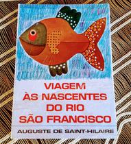 Livro, Viagem às nascentes do Rio São Francisco - Editora Itatiaia