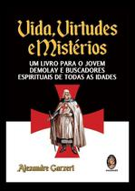 Livro - Vidas virtudes e mistérios -