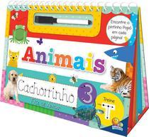 Livro - Vire e desvire - fácil de apagar: animais -