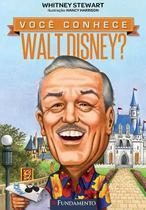Livro - Você Conhece Walt Disney? -