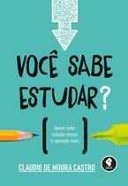 Livro - Você Sabe Estudar? -